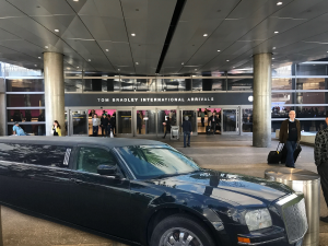 LA limo service at LAX airport